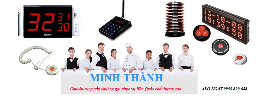 hệ thống chuông gọi Minh Thành