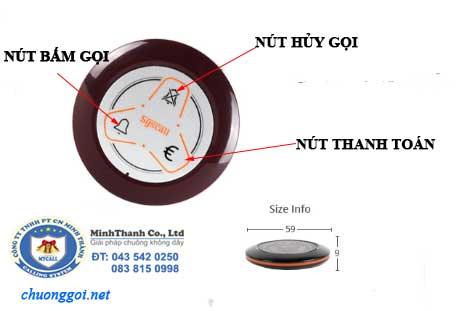 Chức năng của chuông gọi MT-600