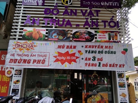 Lắp đặt chuông gọi nhân viên cho quán trà sữa Oh Ti Ti