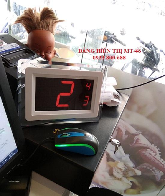 lắp đặt hệ thống chuông gọi nhân viên quán trà sữa  Oh Titi