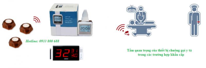Ứng dụng của hệ thống chuông gọi y tá không dây trong bệnh viện