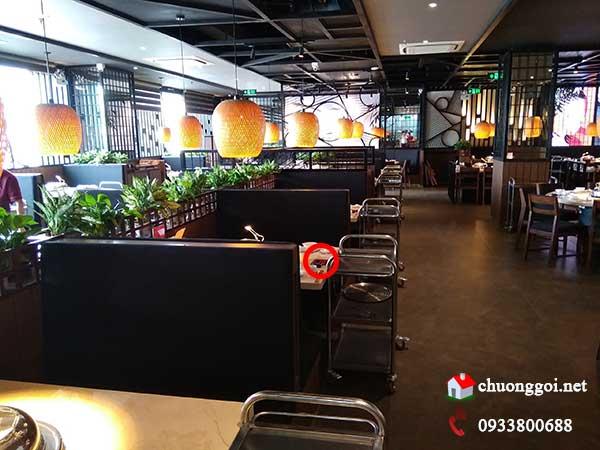 Lắp đặt hệ thống chuông gọi phục vụ không dây cho nhà hàng Meiwei -2
