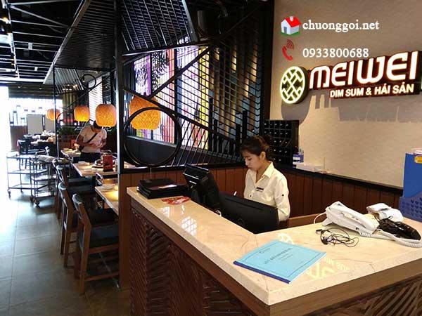 Lắp đặt hệ thống chuông gọi phục vụ không dây cho nhà hàng Meiwei