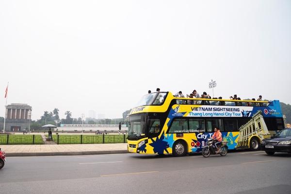 áp dụng xe bus 2 tầng