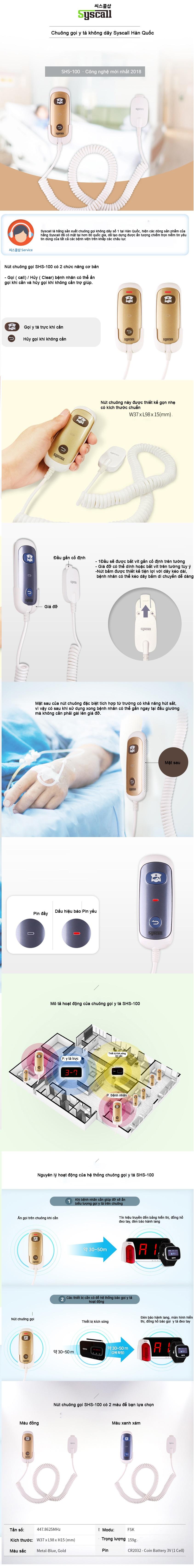 chuông gọi y tá shs - 10