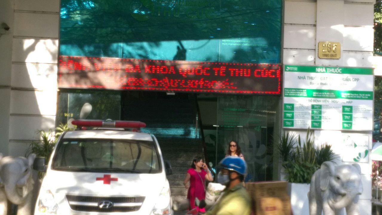 bệnh viện đa khoa thu cúc lắp đặt chuông gọi y tá