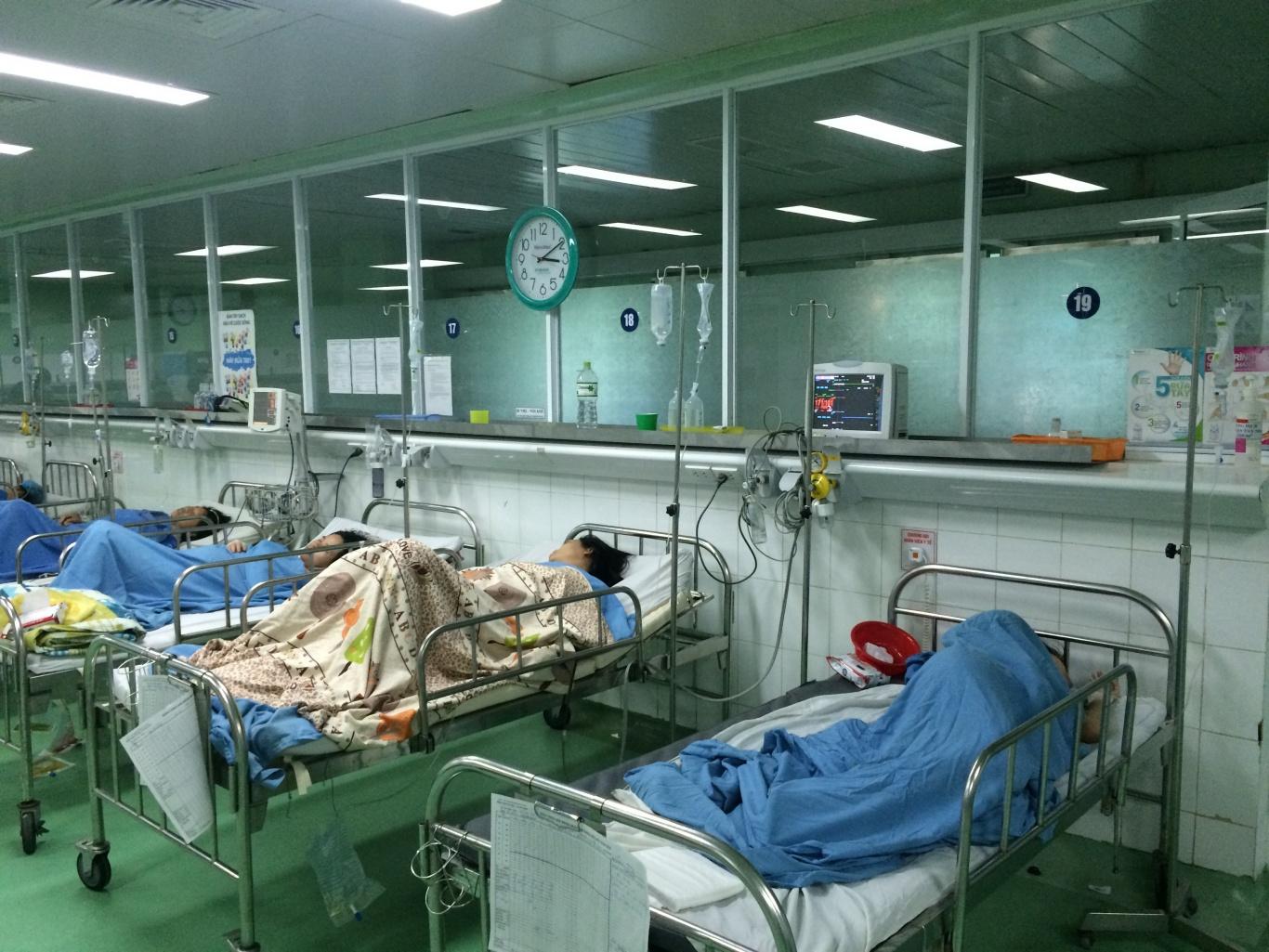 khoa hồi sức bệnh viện phụ sản lắp đặt chuông gọi y tá