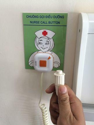 lắp đặt chuông gọi y tá tại bệnh viện phụ sản đà nẵng