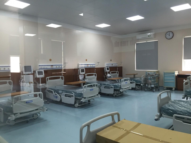 lắp chuông gọi y tá tại phòng khám theo yêu cầu của bệnh viện quân đội