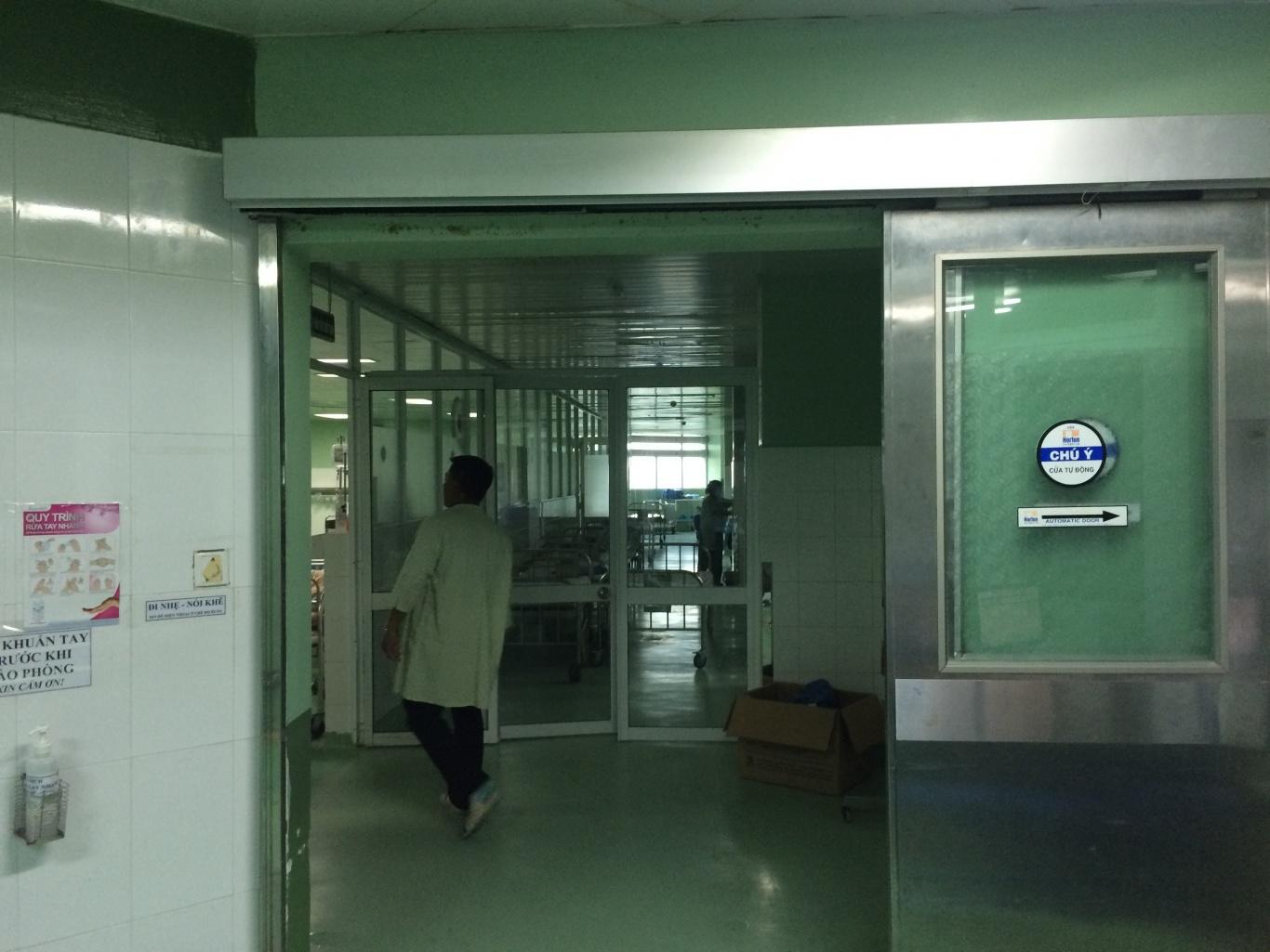chuông gọi y tá bệnh viện phụ sản
