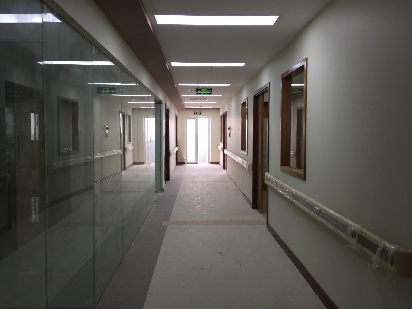 Không gian bệnh viện Bắc Hà