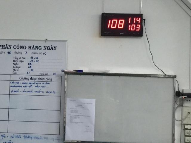 Triển khai lắp đặt chuông gọi y tá cho bệnh viện Ung Bướu Sài Gòn 8-1