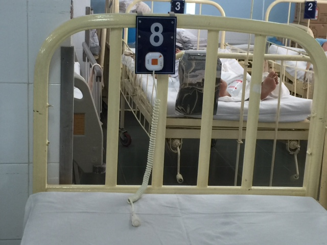 các vị trí để lắp đặt chuông gọi y tá