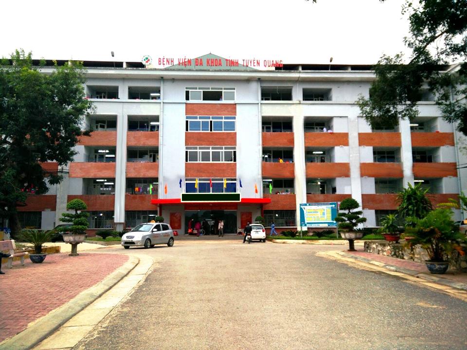 bệnh viện đa khoa tỉnh tuyên quang