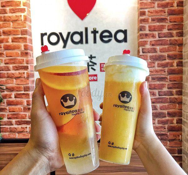 đồ uống tại royaltea