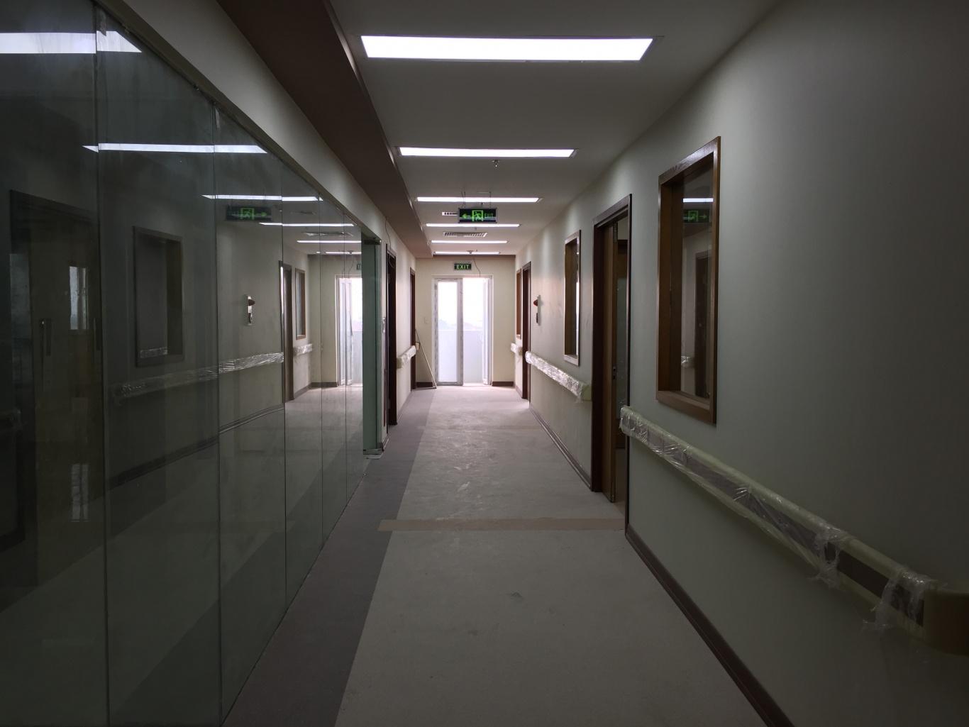 các vị trí lắp đặt chuông gọi y tá tại phòng khám đa khoa thiên tâm