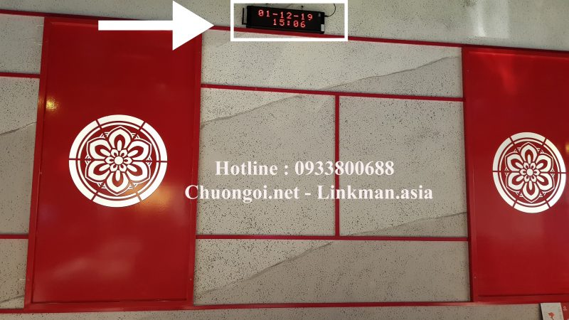 bảng hiển thị tại King BBQ Trung Tâm Thương Mại AEON Hà Đông