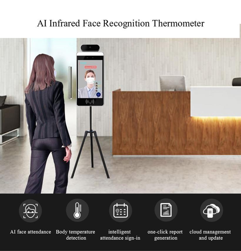 Ứng dụng của camera cảm biến đo thân nhiệt