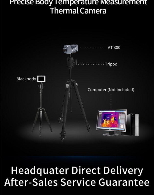 các phụ kiện đi kèm với camera InfiRay AT 600