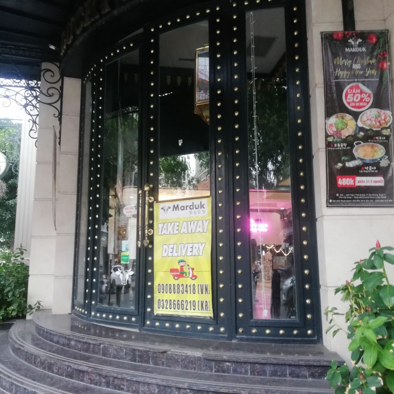 Nhà hàng Marduk Korean