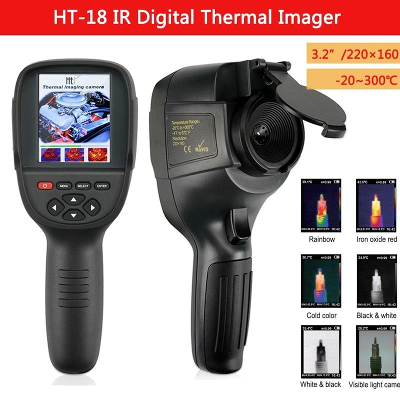 camera đo nhiệt độ ht18 và những tính năng hữu ích