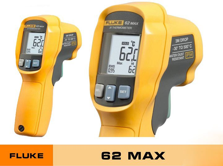 Súng đo nhiệt độ fluke 62max