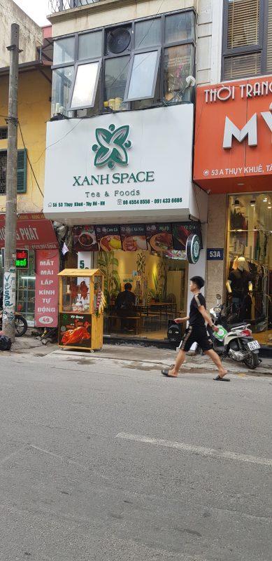 XanhSpace - Tea & Foods