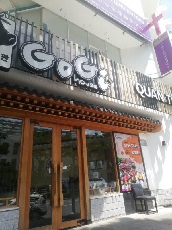 Nhà hàng gogi house Phú Mỹ Hưng