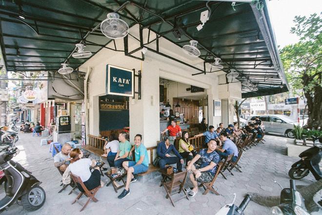 Quán Kafa cafe có nhiều chi nhánh