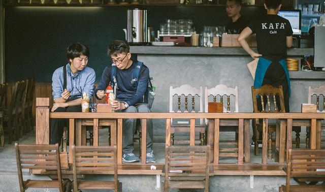 kafa cafe đường phố