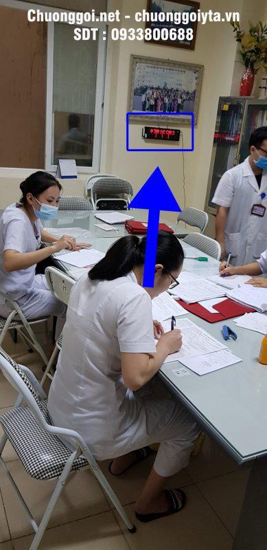 Bảng hiển thị số tại bệnh viện đa khoa Hải Dương