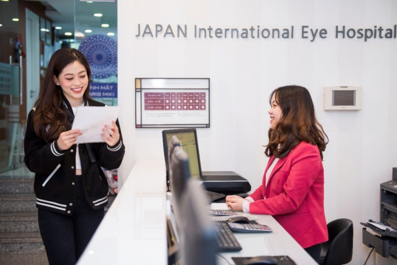 thông tin về Bệnh Viện Mắt Quốc Tế Nhật Bản