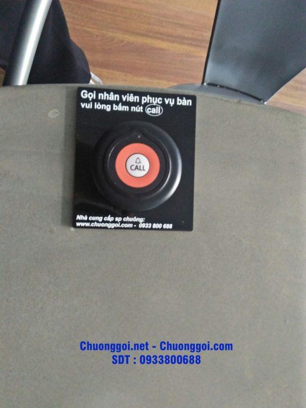 Nút chuông gọi tại nhà hàng Marduk korea restaurant
