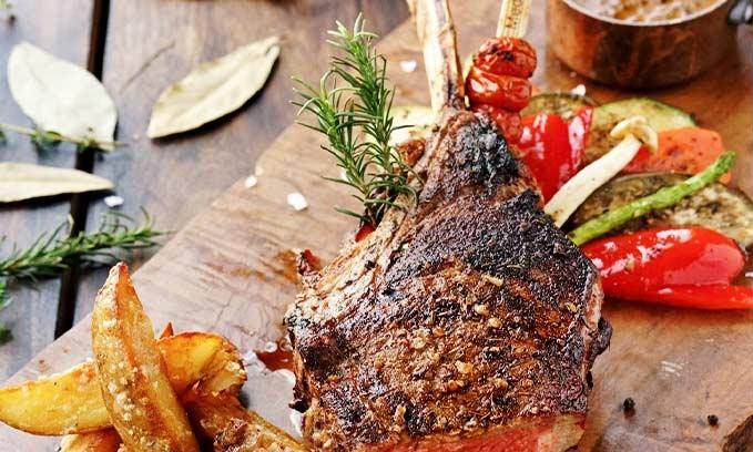nhà hàng  Moo Beef Steak Prime